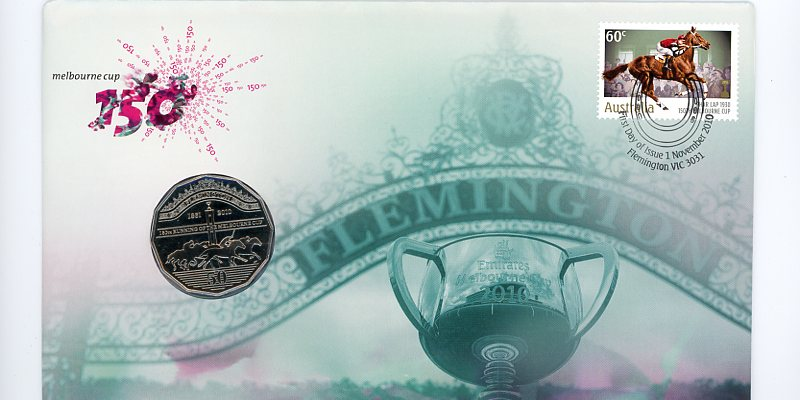 Thumbnail for 2010 Issue 11 150th Anniversary of the Running of the Melbourne Cup