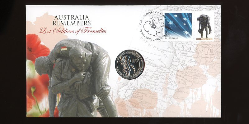 Thumbnail for 2010 issue 06 Australia Remembers Lost Soldiers Fromelles