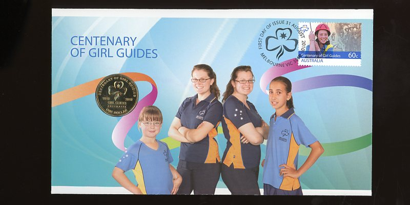 Thumbnail for 2010 Issue 09 Centenary of Girl Guides
