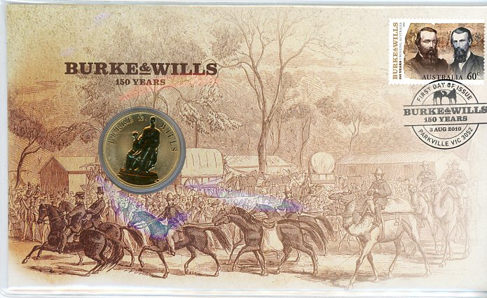 Thumbnail for 2010 Issue 08 Burke & Wills 150 Years
