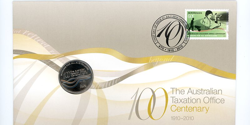 Thumbnail for 2010 Issue 07 the Australian Taxation Office Centenary