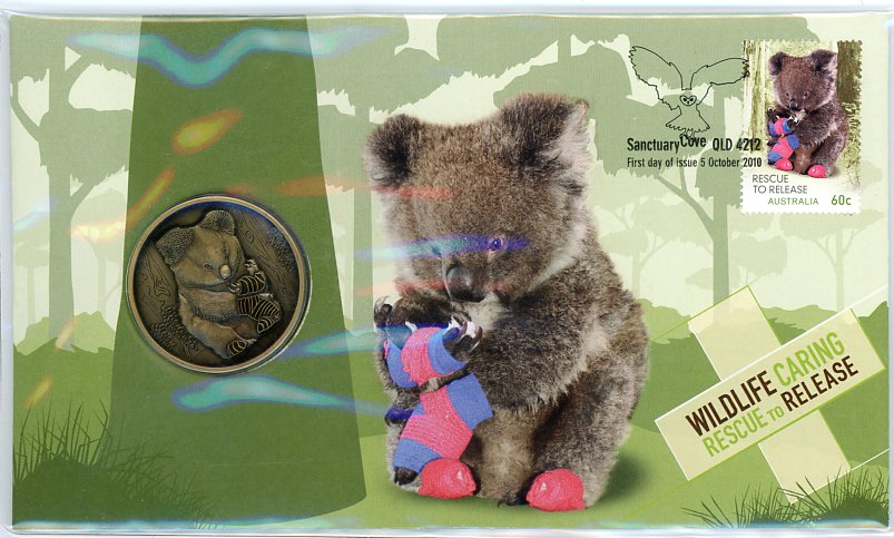 Thumbnail for 2010 Wildlife Caring Medallic PNC