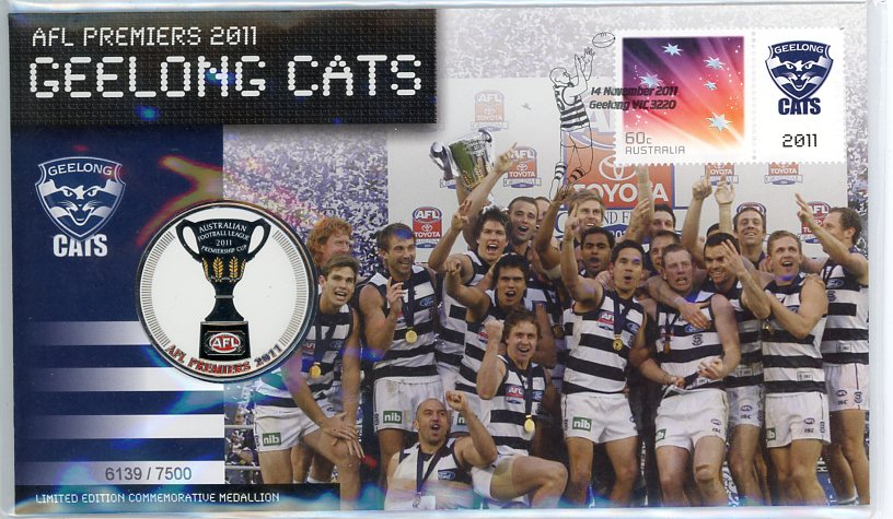 Thumbnail for 2011 AFL Premiers - Geelong Cats