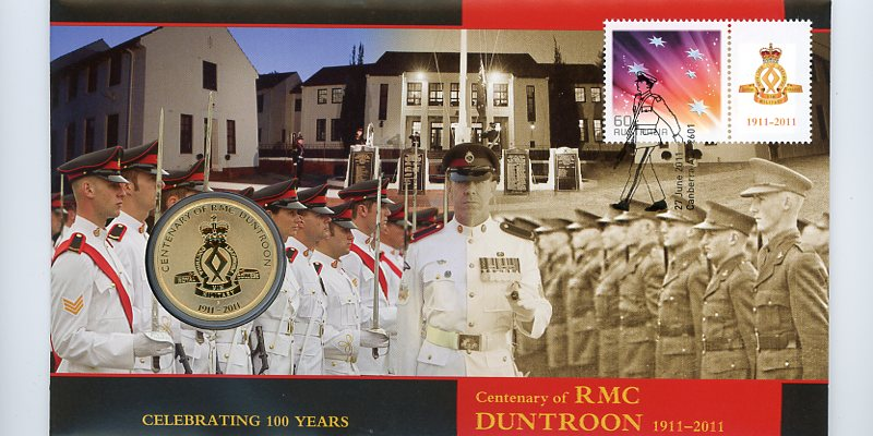 Thumbnail for 2011 Issue 08 Centenary of RMC Duntroon