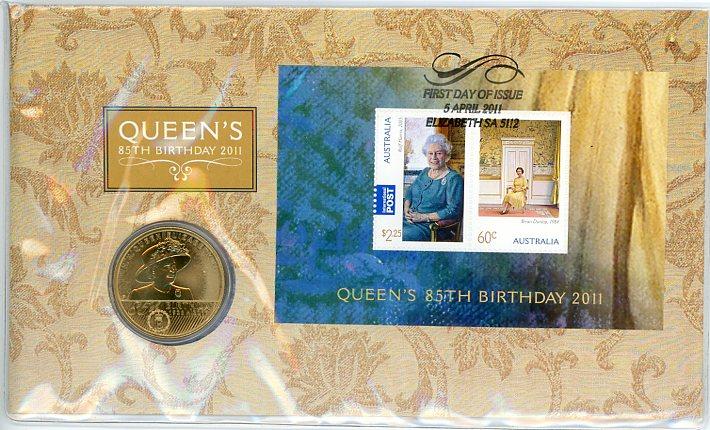 Thumbnail for 2011 Issue 02 Queen Elizabeth II 85th Birthday