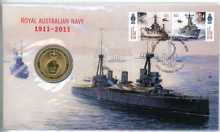Thumbnail for 2011 Issue 05 Royal Australian Navy 100th Anniversary