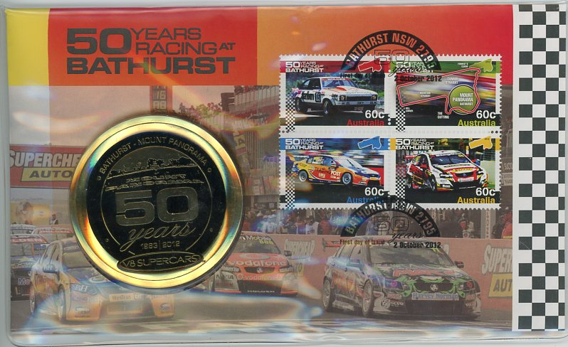 Thumbnail for 2012 Fifty Years of Racing At Bathurst Medallic PNC