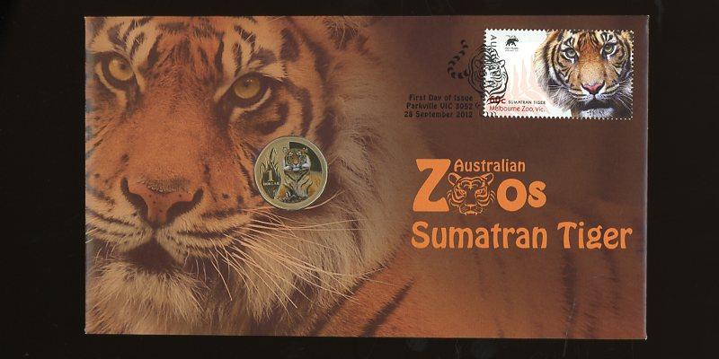 Thumbnail for 2012 Issue 10 Australian Zoos Sumatran Tiger