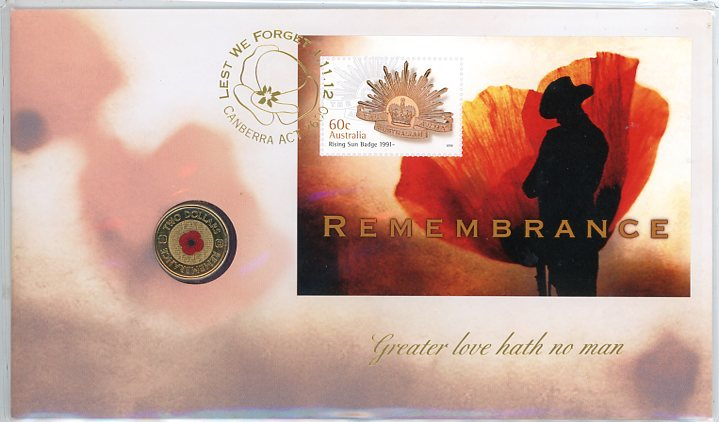 Thumbnail for 2012  Issue 14 $2.00 Remembrance PNC