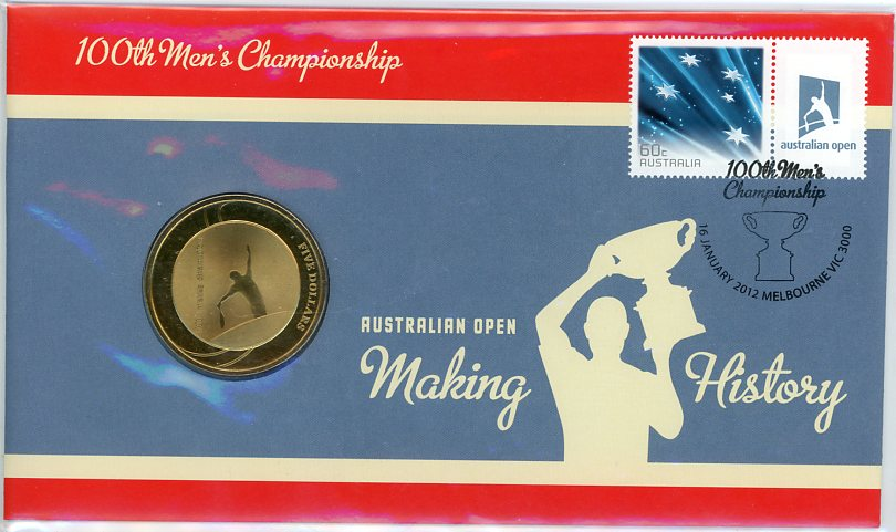 Thumbnail for 2012 Issue 03 Australian Open 100th Men's Championship PNC