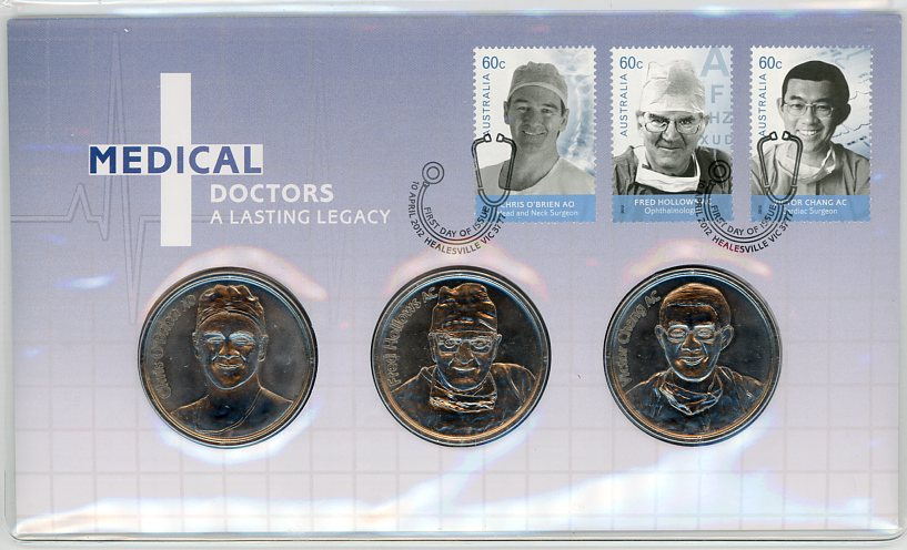Thumbnail for 2012 Medical Doctors Medallic PNC - A Lasting Legacy
