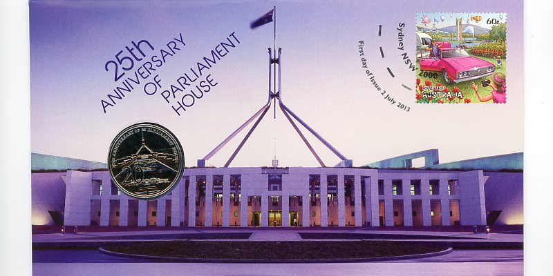 Thumbnail for 2013 Issue 14 25th Anniversary of Parliament House