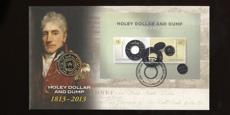 Thumbnail for 2013 Issue 23 Holey Dollar & Dump