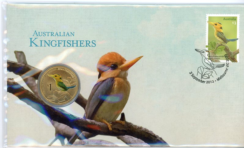 Thumbnail for 2013 Issue 16 Australian Kingfishers