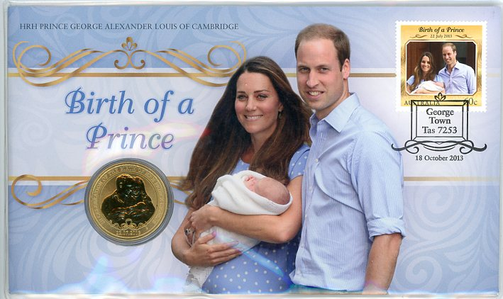 Thumbnail for 2013 Issue 21 Birth of HRH Prince George Alexander Louis of Cambridge