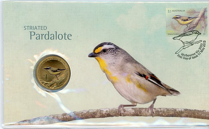 Thumbnail for 2013 Issue 09 Striated Pardalote