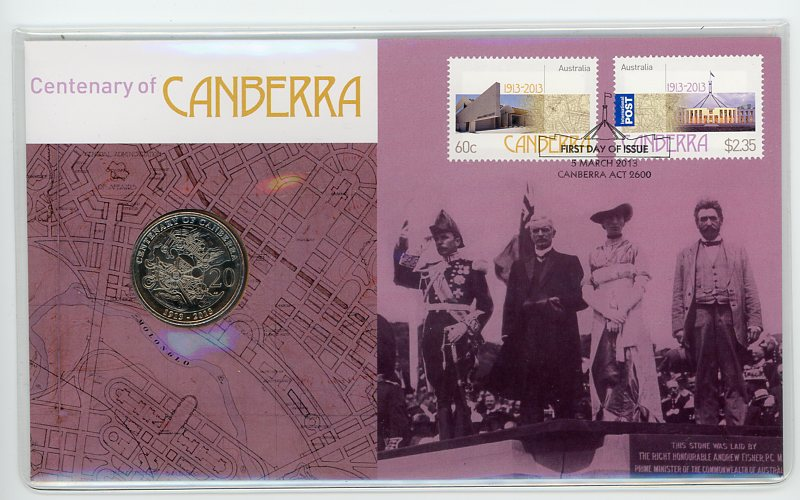 Thumbnail for 2013 Issue 03 Centenary of Canberra