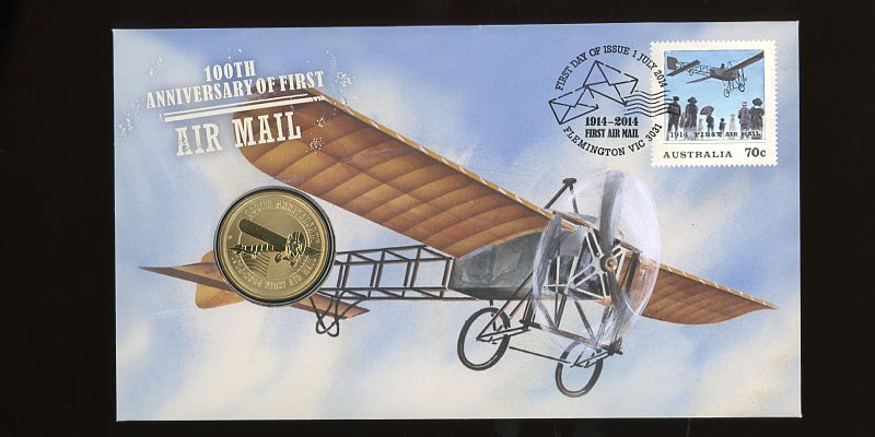 Thumbnail for 2014 Issue 10 100th Anniversary of First Air Mail