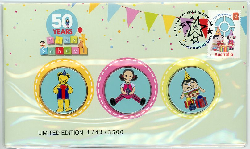 Thumbnail for 2016 Fifty Year of Play School Medallic PNC
