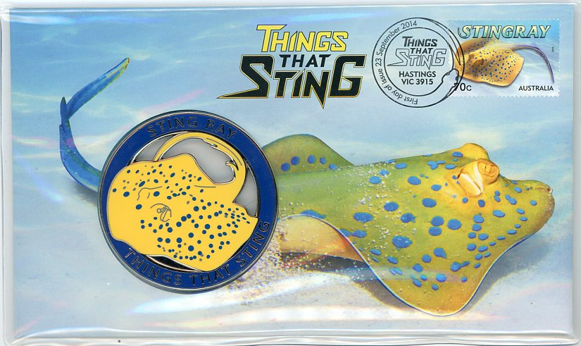 Thumbnail for 2014 Issue 24 Things That Sting - Stingray PNC
