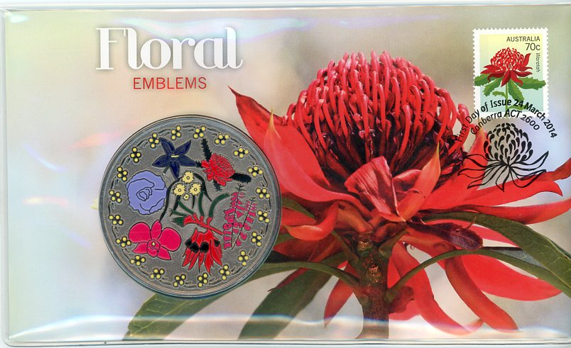 Thumbnail for 2014 Issue 23 Floral Emblems PNC