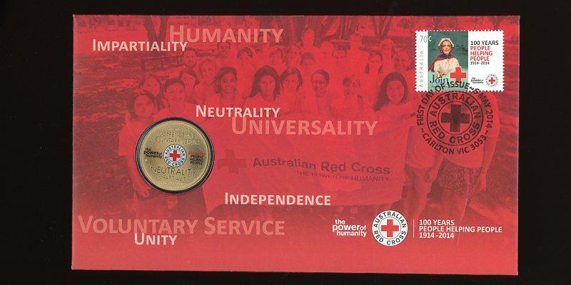 Thumbnail for 2014 Issue 07 Australian Red Cross Centenary