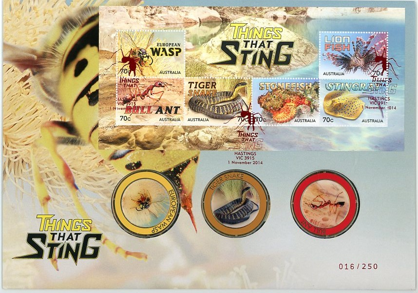 Thumbnail for 2014 Things That Sting PNC - Limited Edition 016-250