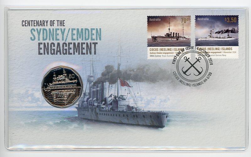 Thumbnail for 2014 Issue 12 Sydney - Emden Engagement