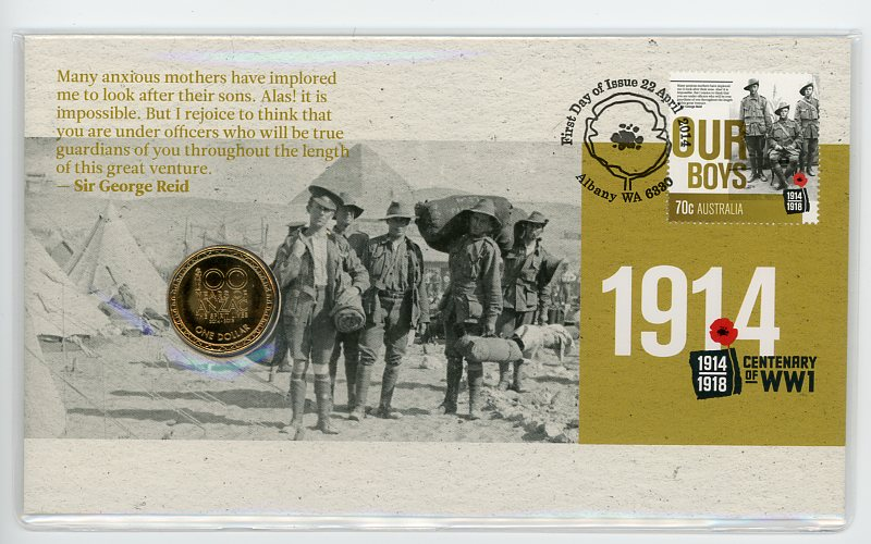 Thumbnail for 2014 Issue 05 Centenary of WWI