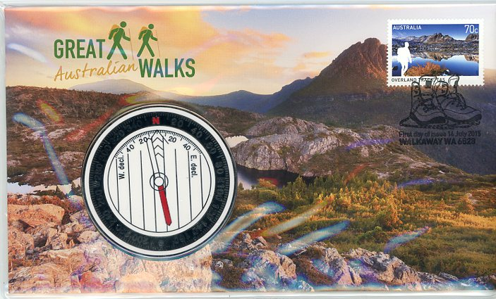 Thumbnail for 2015 Great Walks Medallic PNC