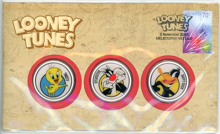 Thumbnail for 2015 Looney Tunes Medallic PNC