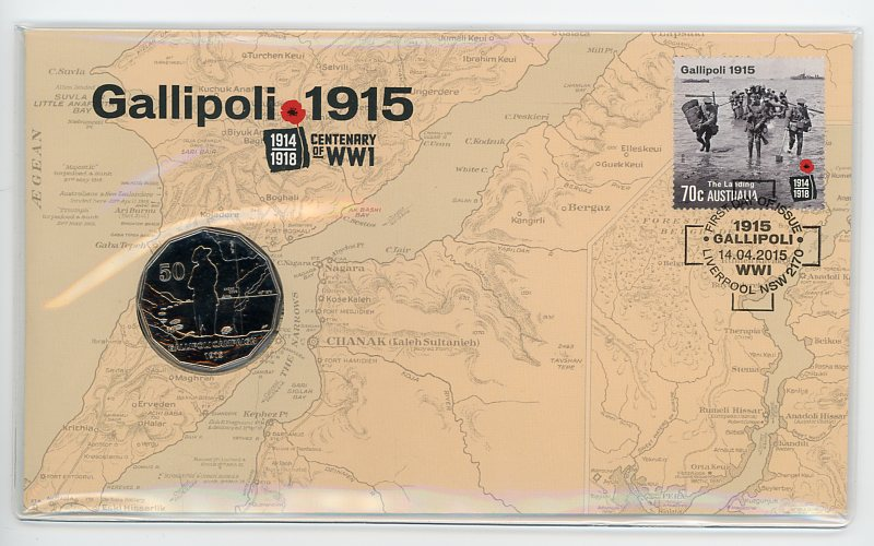 Thumbnail for 2015 Issue 08 Gallipoli Centenary of WWI
