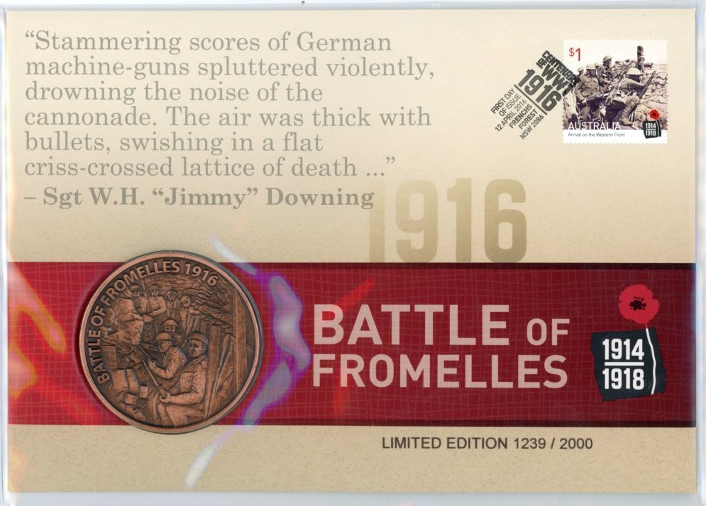 Thumbnail for 2016 Centenary of WWI - Battle of Fromelles PNC
