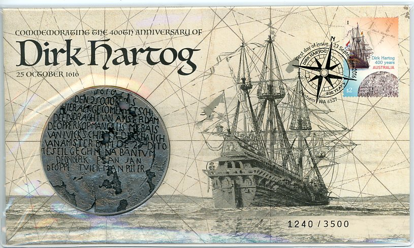 Thumbnail for 2016 Dirk Hartog - Commemorating 400th Anniversary PNC