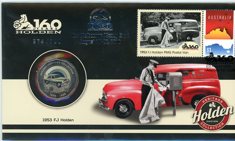 Thumbnail for 2016 Issue 18 1953 FJ Holden ANDA Melbourne Money Expo Edition