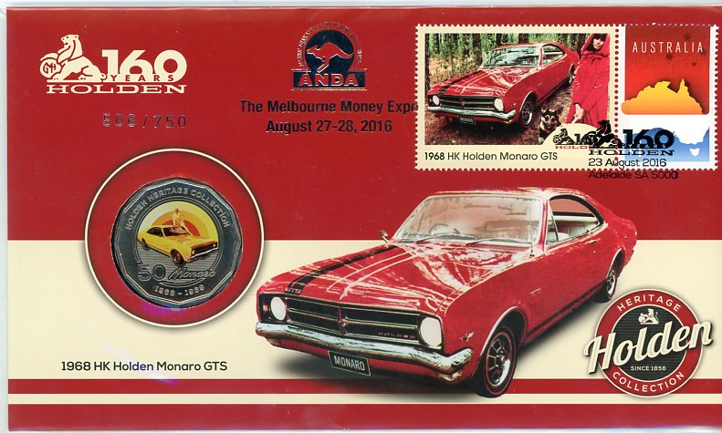 Thumbnail for 2016 Issue 19 1968 HK Holden Monaro GTS ANDA Melbourne Money Expo Edition