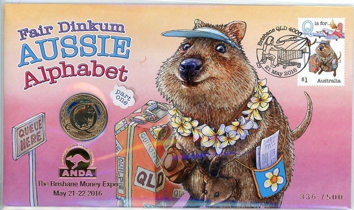 Thumbnail for 2016 Issue 06 Brisbane Money Expo Fair Dinkum Aussie Alphabet