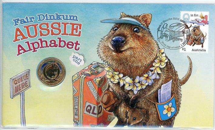 Thumbnail for 2016 Issue 06 Fair Dinkum Aussie Alphabet Q