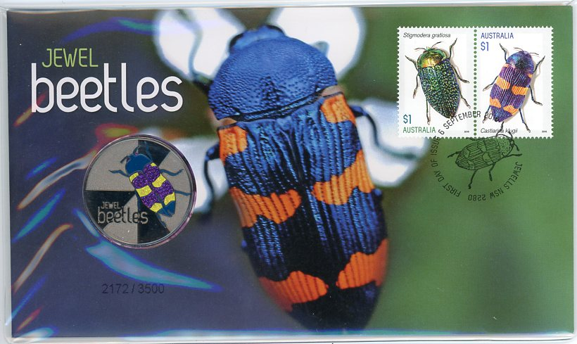 Thumbnail for 2016 Issue 06 Jewel Beetles PNC