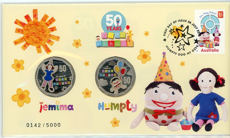 Thumbnail for 2016 Issue 15 Fifty Years of Play School - Jemima & Humpty PNC