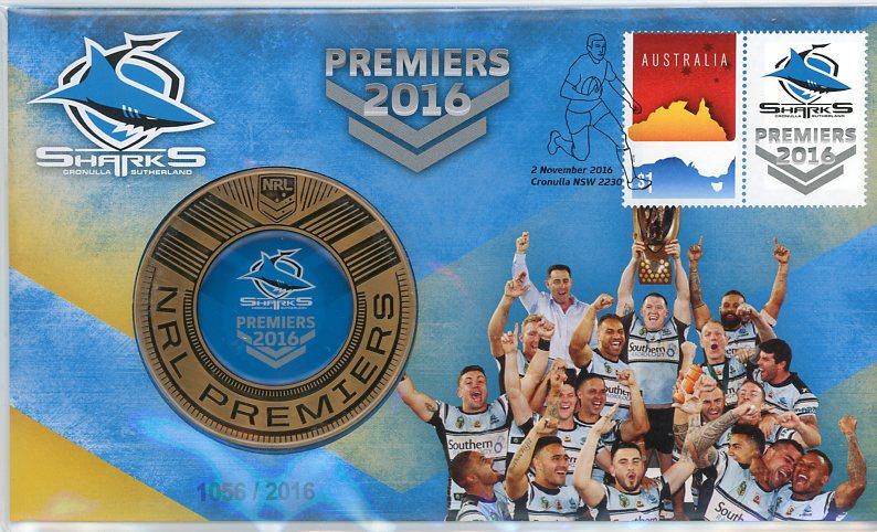 Thumbnail for 2016 NRL Premiers - Cronulla Sharks PNC