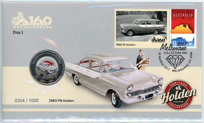 Thumbnail for 2017 Issue 6 1960 FB Holden Day 1 Melbourne Stamp Show