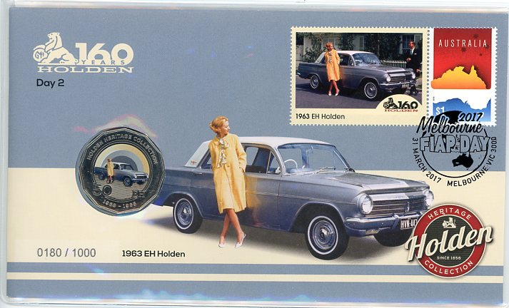 Thumbnail for 2017 Issue 7 1963 EH Holden Day 2 Melbourne Stamp Show