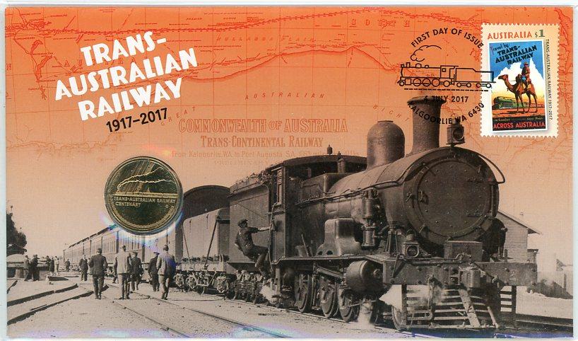 Thumbnail for 2017 Issue 15 Trans Australian Railway PNC