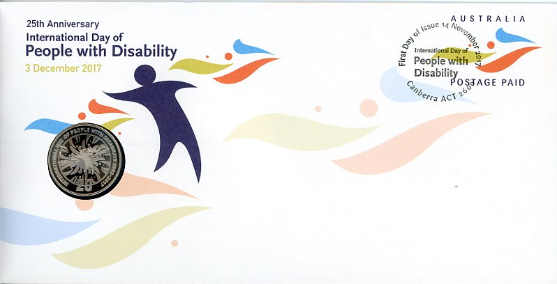 Thumbnail for 2017 Issue 16 25th Anniversary International Day of People with Disability