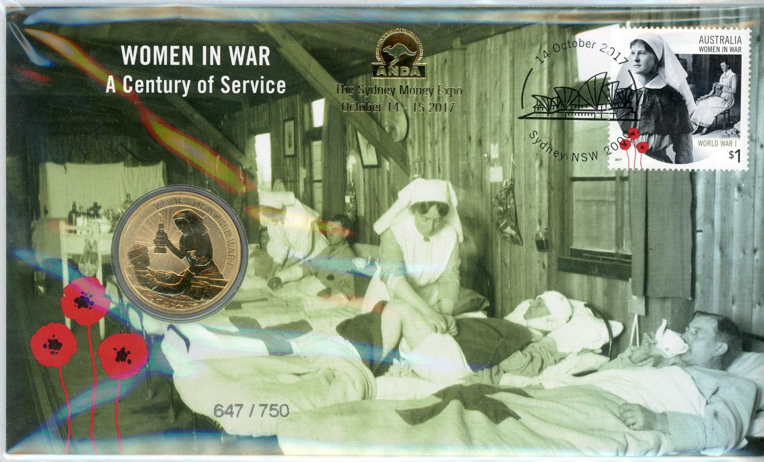 Thumbnail for 2017 Issue 19 PNC Women In War - A Centenary of Service ANDA Issue