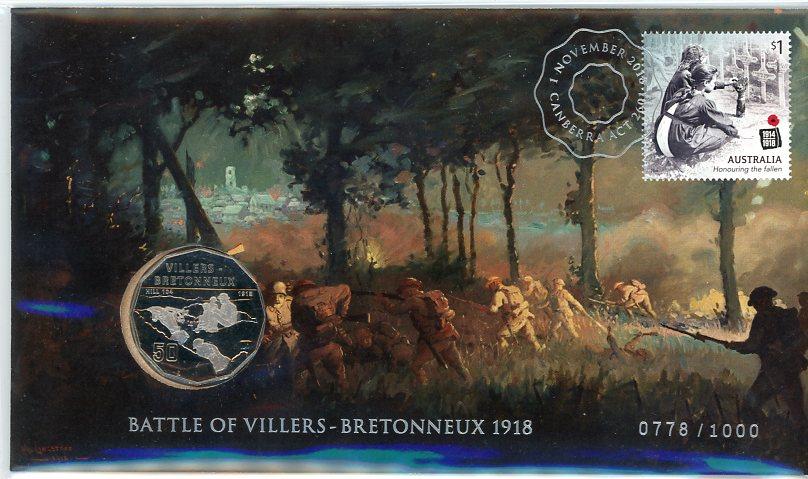 Thumbnail for 2018 Battle of Villers-Bretonneux 1918 Limited Edition