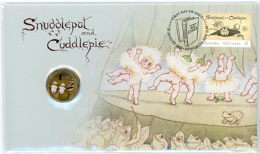 Thumbnail for 2018 Issue17 Snugglepot & Cuddlepie - 100 Years PNC