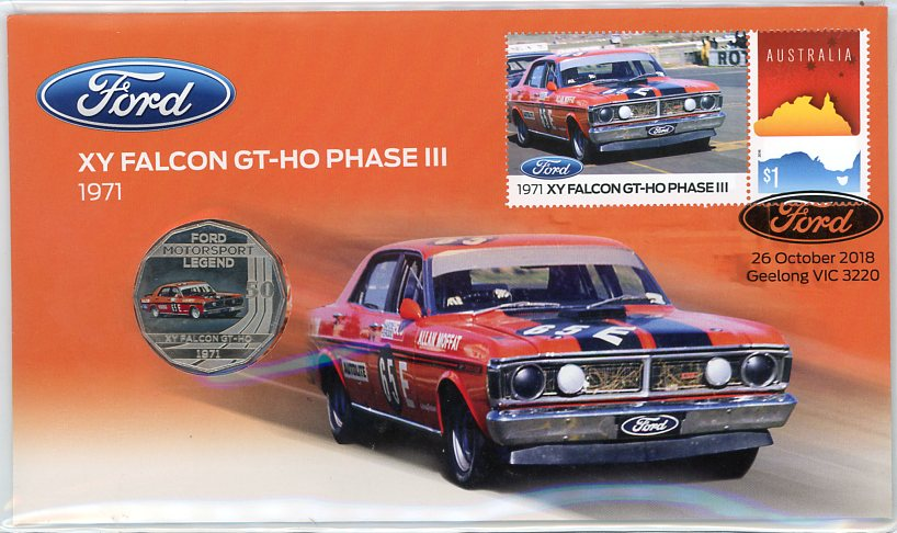 Thumbnail for 2018 Issue 25 XY Falcon GT-HO Phase III PNC