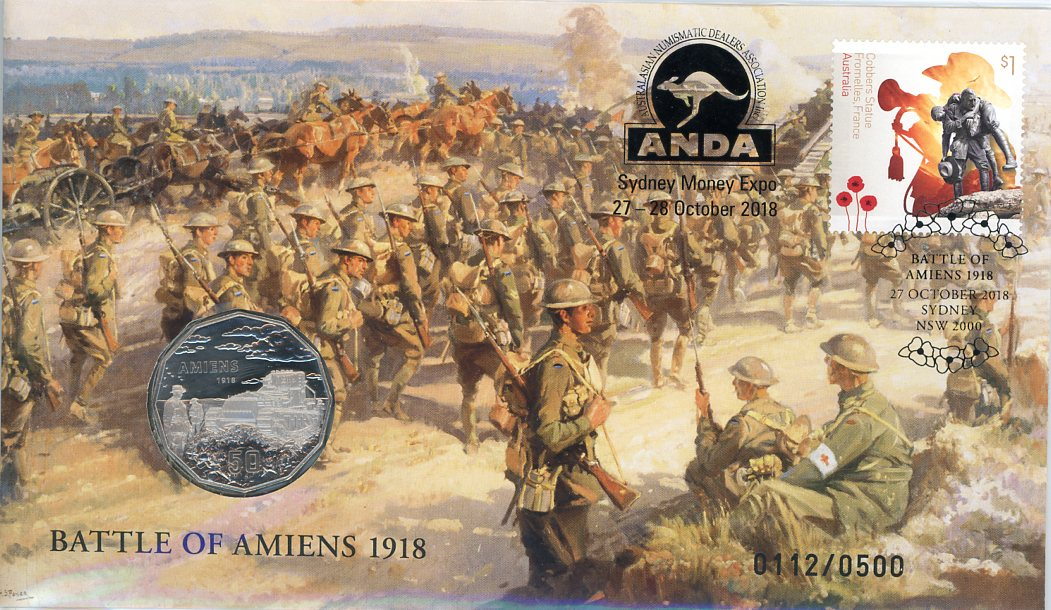 Thumbnail for 2018 Issue 15 Battle of Amiens 1918 - ANDA Issue